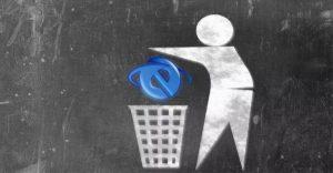 Internet Explorer Kullanılmamalı